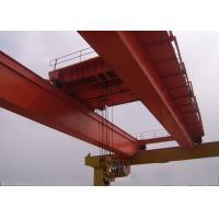 LH -10t -10.5m -9m Double Girder Overhead Cranes , Bridge Crane Safety For Cement Plant