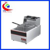 Automatic KFC Commercial Electric Tabletop Deep Fryer Stainless Steel One Tank