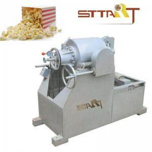 China Hot Air SS Puffed Rice Machine , Fast Speed Corn Puff Making Machine on sale