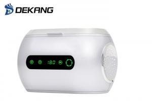 China 42KHz 600ml Household Ultrasonic Cleaner Mini Plastic Cleaning Machine on sale
