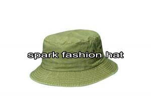 Quality Garment washed plain cotton bucket hat for man for sale