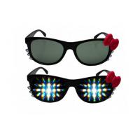 China Promotional 3D Fireworks Glasses For Gifts , Girl Hello Kitty Plastic 3D Glasses on sale