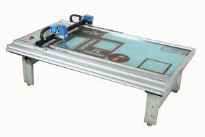 China Grey Picture Frame Cutting Machine , Card Paper Flatbed Digital Cutter on sale