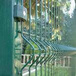 Razor Welded Wire Mesh Fence Panels In 6 Gauge Airport Security Perimeter