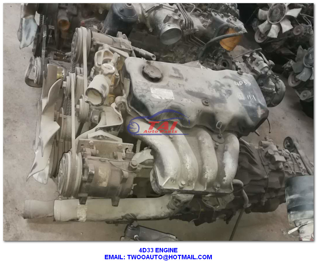 Complete Mitsubishi Used Japanese Engines 4D33 4D34 4D35 Canter