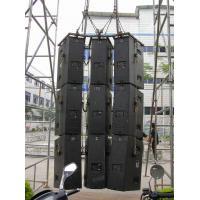 Line Array Speaker Upright Truss / Customized Heavy Duty Truss 520x1000 mm