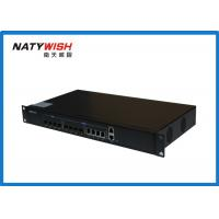 1U Rack Type EPON Optical Line Terminal 4 PON Ports For FTTH Project With EMS Software
