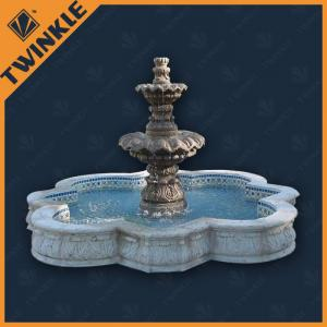 China Natural Stone Carving Garden Water Fountains For Home Decoration on sale