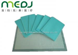 China Incontinence Disposable Medical Underpads High Absorptance Waterproof PE Film Bottom on sale