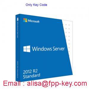 China Windows server 2012 standard oem key ,windows server key on sale