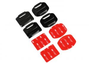 China Flat and Curved Adhesive GoPro Sticker Mount GoPro Camera Accessories on sale