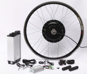 China Fat Tire Electric Bicycle Hub Conversion Kit 20Ah High Capacity Lithium Battery on sale