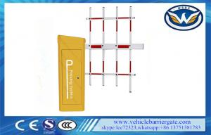 China Automated IP65 Servo Motor Vehicle Barrier Gate 342*312*959mm on sale