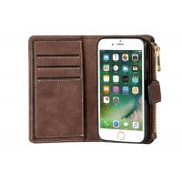 Classic iPhone 8 Plus Wallet Leather Case / Ultra Strong Magnetic Closure Wallet