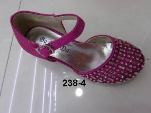 China 2014 Cute Set auger design good quality kids sandals shoes for girl ML238-4 on sale
