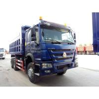 Famous SINOTRUK HOWO 6*4 Dump Truck , Diesel Fuel Type Heavy Commercial Trucks