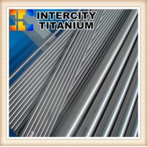China Gr1 gr2 gr5 polished /pickling titanium alloy round bar manufacture on sale