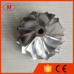 RHG6 6+6 boleto do turbocompressor do elevado desempenho das lâminas 63.50/82.05mm/trituração/roda 2024 compressor do alumínio para Chevy 6.6L