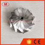 HX40 11+0 blades 67.00/89.00mm high performance turbo Turbocharger Billet/milling/aluminum 2618 compressor wheel