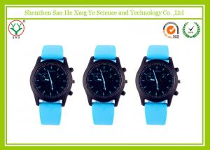 China Silicon Light Up Waterproof Digital Watch With Color Strap For Kids on sale