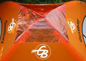 China Custom Lightweight Inflatables Dome Tent UV Resistance for Outdoor Sports Event on sale