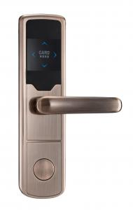 China staineless steel RF Card Door Lock  with Encoder and Sof Electronic Hotel on sale