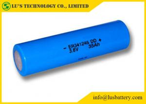 China ER341245 DD Type Lithium Thionyl Chloride Battery Long Operating Time on sale