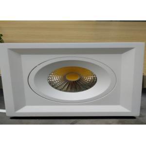 China Tiltable Square 15W 2700-3000K IP54 LED Housing Aluminum Fixture for Bathroom/R3B0206 on sale
