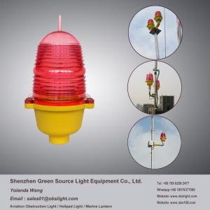 China Hot sale Low intensity red led aviation beacon aircraft warning light for tower marker on sale
