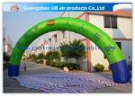 Promotion Semicircle Inflatable Start Finish Arch 9m Span Customized Size