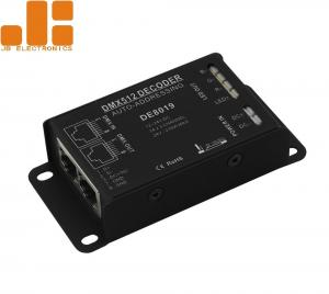 China DMX512 Decoder Led Light Controller 3A*3CH Auto - Addressing With Aluminium Shell on sale