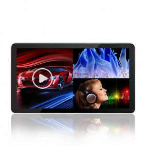 China 18.5-98 Inch Remote Control Digital Advertising Lcd Screens , High Brightness Flat Touch Screen Monitor on sale