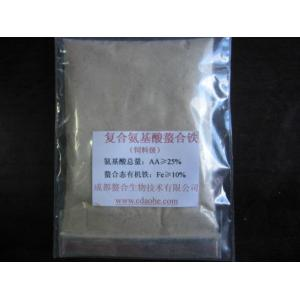 China organic foliar fertilizer Iron  Amino Acid Chelate (100% water soluble powder) on sale