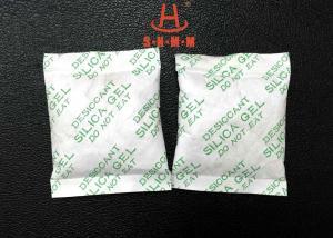 China Electrical Mildew Resistant Silica Gel Desiccant 30g Halogen Free Tyvek Silica on sale