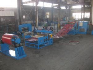 China 20m X 6m Steel Slitting Machine 1 Year Warranty 210Kw Steel Coil Slitting Line on sale