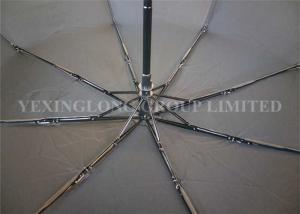 China Durable Automatic Open And Close Compact Umbrella , Push Button Umbrella Flip Proof supplier