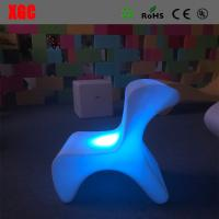 PE stool /Modern Changeable Color Bar Stool / Child Stool / Led  Stool