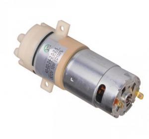 China Sovoflo food grade quiet dc pump 12V 24V 36V water pump long life diaphragm pump for hot water 60℃ diaphragm pump on sale