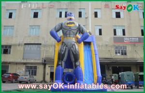 China Kids / Adults Games Jumbo Inflatable Bouncer Slide With Digital Printing on sale