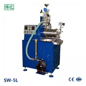 China Stainless Steel Horizontal Sand Mill Machine High Speed Dispersion Wear Resistance on sale