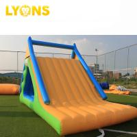 China Adult Water Park Inflatable Summit Express Outdoor Playground on sale