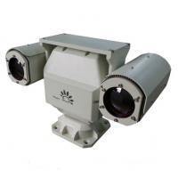 Dual Sensor PTZ Infrared Thermal Imaging Camera , Infrared Digital Camera Military Grade