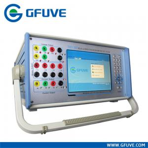 China Portable Three Phase Protective Relay Test Set With Instruments Testing Function on sale
