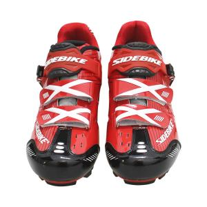 China Wholesale Chinese Red Cycling Shoes Mountain Mtb Shoes Compatible with SPD Pedal wholesale