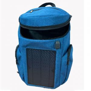 China Multifunctional Outdoor Waterproof Sports USB Solar Rechargeable Backpack on sale