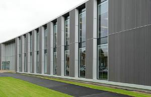 China Exterior WPC Wall Cladding Drak Grey For Conctruction & Decoration on sale