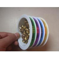 China 4 Channels Present Wrapping Ribbon 10mm 5m For Mixed Color Products Packing on sale