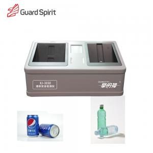 China Quick Checking Security Liquid Detector Double Tunnel Desk Type For Subway on sale