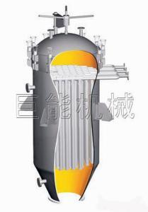 China Complètement - précision de filtrage 50, 65 de filtres en forme de bougie de purification de sucre d'automatisation um on sale