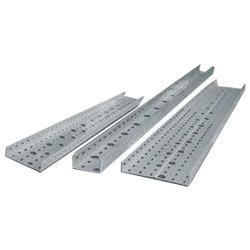 China Outdoor FRP Perforated Cable Tray , Petroleum Industrial Metal Cable Tray on sale